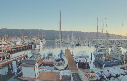 Santa Barbara Harbor Cam