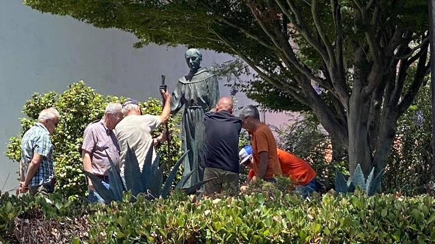 junipero serra removed from san luis obispo