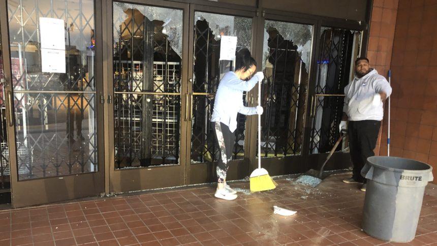 SM Town Center Damage